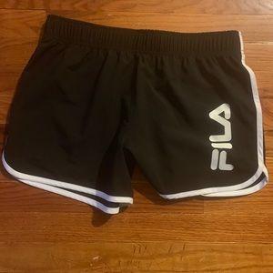 FILA active shorts, size M.